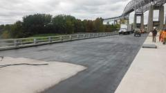Waterproofing of bridges and tunnels