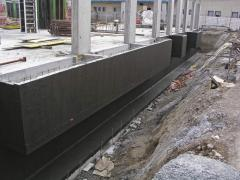 Waterproofing of foundations