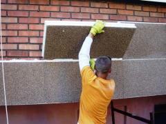 Walls and fasades Heat-insulating works
