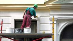 Отделочные фасадные работы