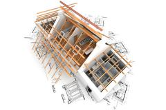 Services in roofing works and external facing of