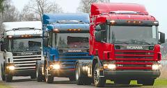 Delivery of freight by motor transpor