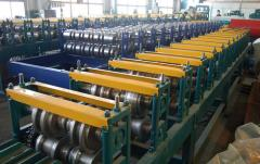 Production of the profile reinforcing for PVC