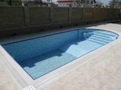 Production of swimming pools