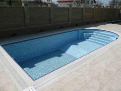 Services for the installation of pools