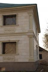 Decorating of house facade