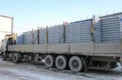 Доставка металлоконструкции на строительную