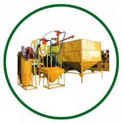 Starting-up and adjustment of mill equipment