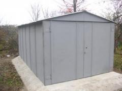 Installation of metal garages