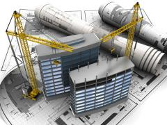 Construction of buildings and structures