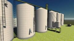 Building of agriculture silos