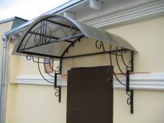 Installation of canopies