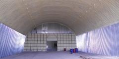 Insulation of hangars