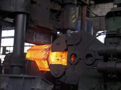 Прессование металла