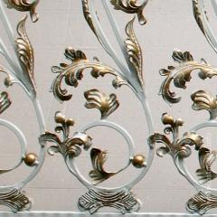 Restoration and patina of metal products