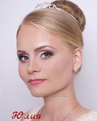 Свадебный макияж с выездом, профессиональный макияж в салоне красоты