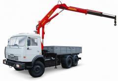 Service of crane-manipulator