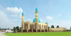 Проект мечети на 300-350 мест с медресе на 3 класса.