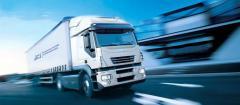 Доставка продукции автотранспортом