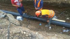 Прокладка сетей водопровода