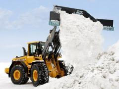 Export of a snow