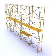 Rental of scaffolds