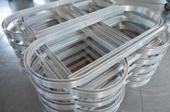 Гибка профиля алюминиевого