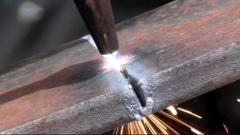 Cutting of the metal