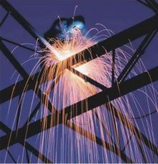 Welding of metal structures