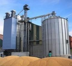 Строительство комплексов зерносушильных