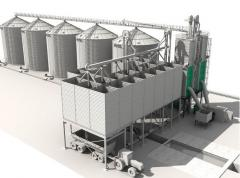 Строительство объектов отрасли зерноперерабатывающей