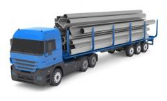 Services of cutting and delivery of metal and