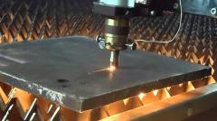 Laser cutting of metal