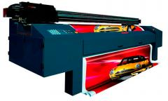 Large-format press from 770 to 1440 dpi