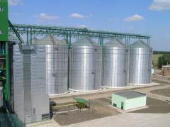 Design of grain storage facilities (drying