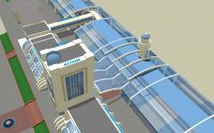 Проектирование вокзала