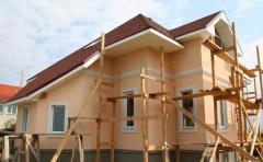 Работы отделочные фасадные