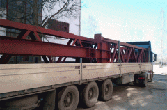 Delivery of steel structures