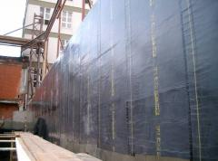 Services in isolation, waterproofing and