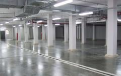 Waterproofing of parkings