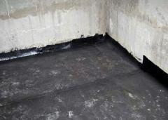 Waterproofing of basements