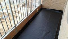 Waterproofing of balconies