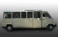 Ритуальный транспорт-катафалки, Рено белый