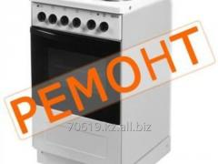Repair and installation of electric stoves