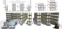 Проектирование пространства складского