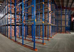 Professional installation of warehouse equipment