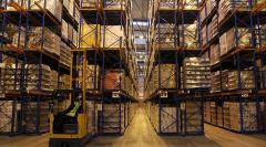 Установка складского оборудования