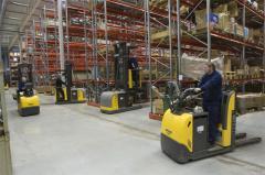 Комплектация склада техникой