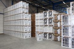 Outdoor storage of goods