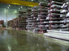 Хранение металлов на складе
